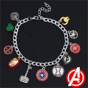 ARRIVED! Marvel Avengers Charm Bracelet